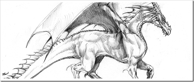 Dragon Drawing Dragon Sketch