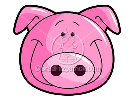 cute pig clipart rh bradfitzpatrick com  cartoon pig roast clipart