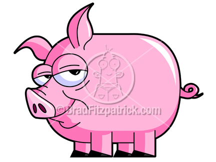 Plastic pig cartoons clipart photo of piggy climbing. Cute Pig Clipart