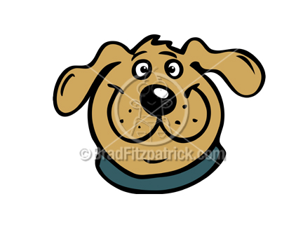 cartoon dog head illustration royalty free dog head stock rh bradfitzpatrick com free pet clipart free clipart pet sitting