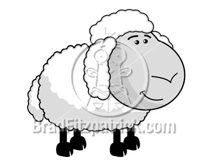 Cartoon Characters Png. Sheep Cartoon Character