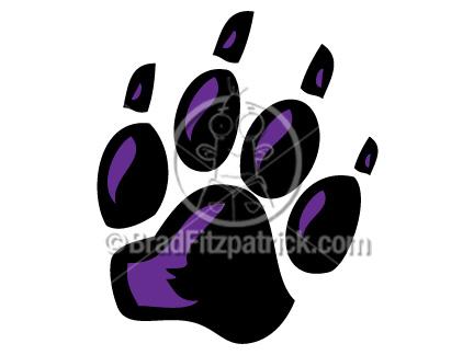 black panther paw print clip art black panther paw print clipart rh bradfitzpatrick com panther paw print clip art purple panther paw clip art