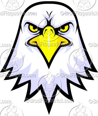 bald eagle face logo clipart rh bradfitzpatrick com harley davidson eagle logo clip art eagles logo clipart