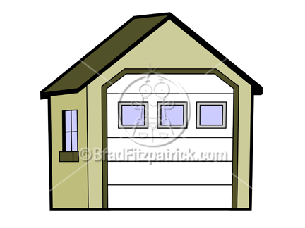 Cartoon Garage Clipart. Sale Price: $13.00 $9.97. You Save: $3.03