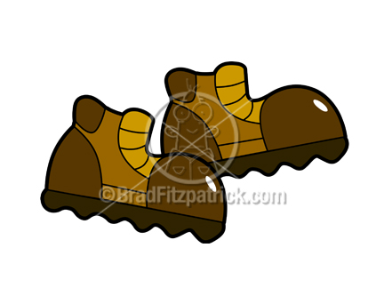 Cartoon Boots Clipart Picture Royalty Free Hiking Boots Image