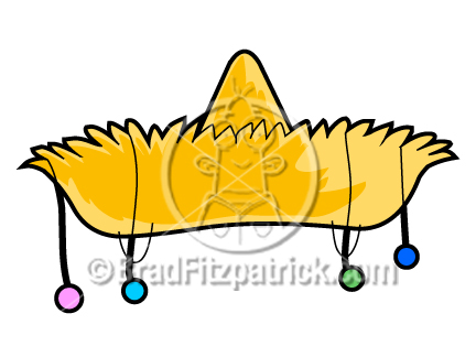 Sombrero Cartoon Cartoon sombrero clipart