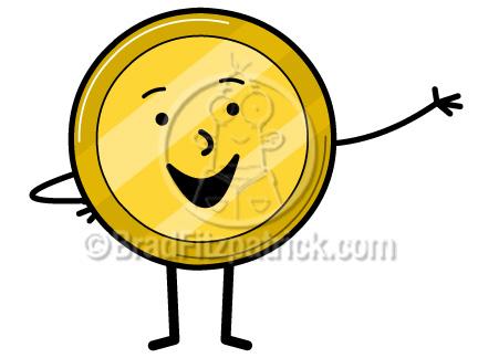 cartoon coin clip art coin clipart graphics vector coin icon rh bradfitzpatrick com coin clipart for teachers coin clipart black and white
