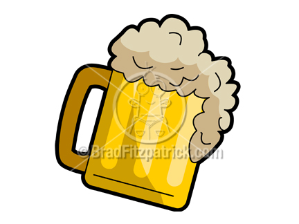 Cartoon Beer Clipart Picture | Royalty Free Beer Mug Clip Art ...