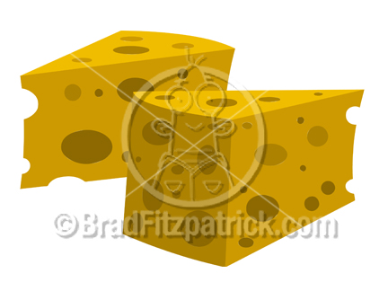 Cartoon Cheese Clipart
