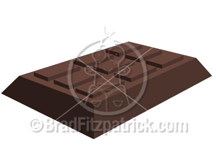 candy bar clip art. Cartoon Chocolate Clipart