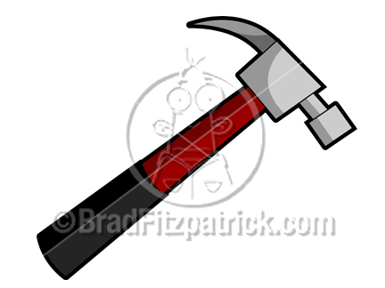 Cartoon Hammer Clipart Picture | Royalty Free Hammer Clip Art Licensing.