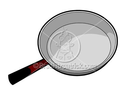 Cartoon Frying Pan Illustration Royalty Free Frying Pan