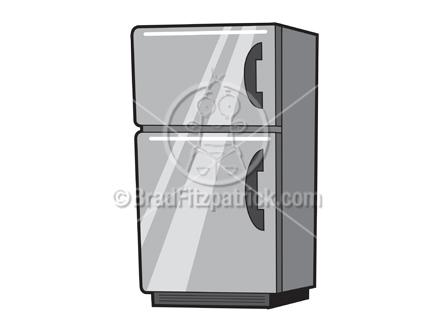refrigerator clipart. cartoon fridge clip art - refrigerator clipart n