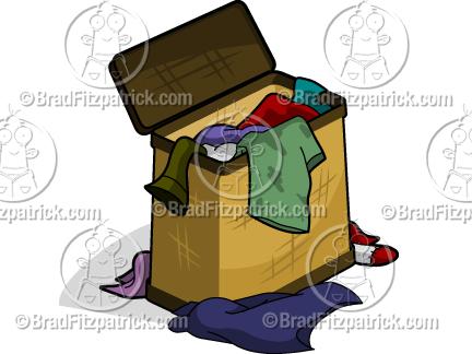 laundry basket clipart. Cartoon Clothes Hamper Clipart Laundry Basket G