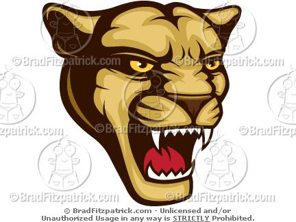 Cool Cougar Mascot Clip Art! - Cougar Maascot Logos, Pictures ...