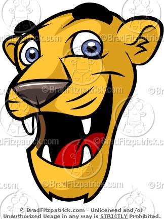 need a cartoon cute cougar mascot check out our cute cougar mascot rh bradfitzpatrick com Cougar School Mascot cougar mascot clipart free