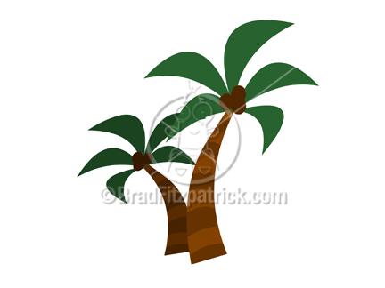 Cartoon Palm Trees Clipart