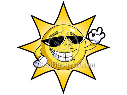 Cartoon Sun Clipart Picture | Royalty Free Sun Clip Art Licensing.