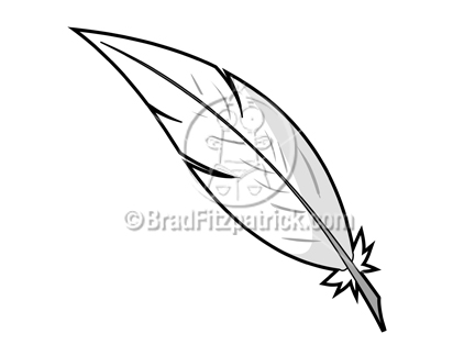 Feather Stock Illustration - Royalty Free Feather Clipart ...