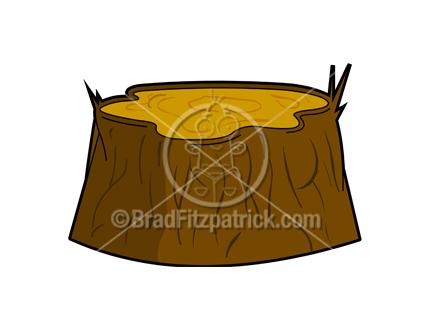 Tree Stump Stock Illustration | Royalty Free Tree Stump Clipart ...