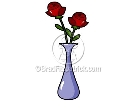 Rose Vase Clip Art Royalty Free Rose Vase Clipart Cartoon Rose