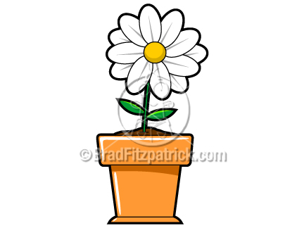 clip art flower. Cartoon Flower Clipart