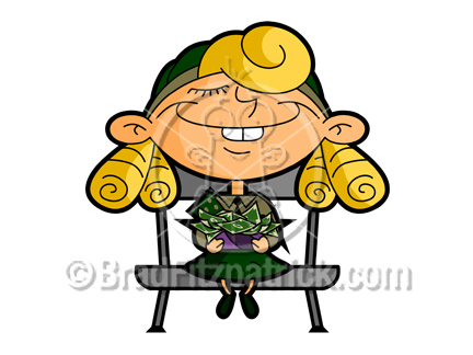 Cartoon Girl Scout Clipart Picture | Royalty Free Girl-Scouts Clip Art