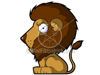 Lion Cartoon Character on Cartoon Lion Clipart Character   Royalty Free Lion Picture Licensing
