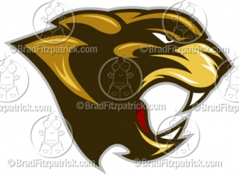 Cartoon Cougar Mascots -  Cougar Mascot Pictures - Vector Cougar Mascot Clipart Images!