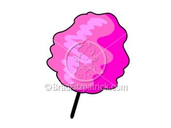 Cartoon Cotton Candy Clip Art | Royalty Free Cotton Candy ...