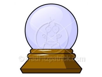 Cartoon Crystal Ball Clipart Graphics