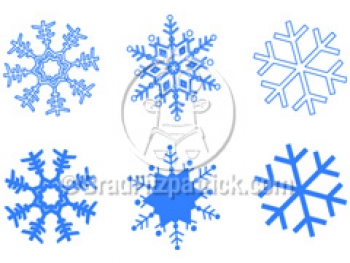 Cartoon Snowflake Clipart Picture | Royalty Free Snowflakes Clip Art ...