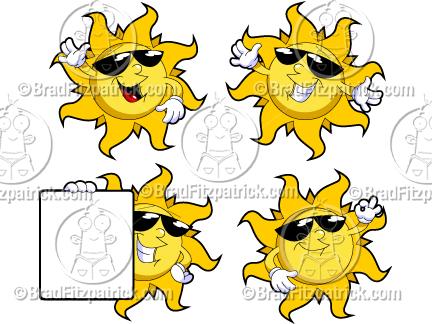 sun clipart graphics