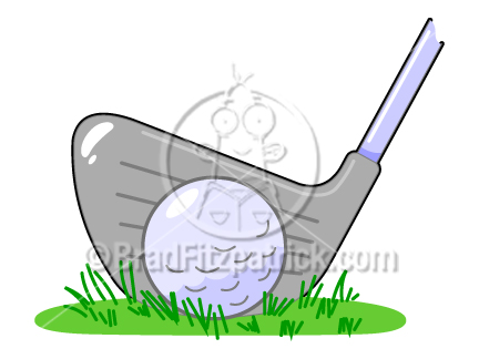 Cartoon Golf Ball Clipart Picture | Royalty Free Golf Ball Clip Art