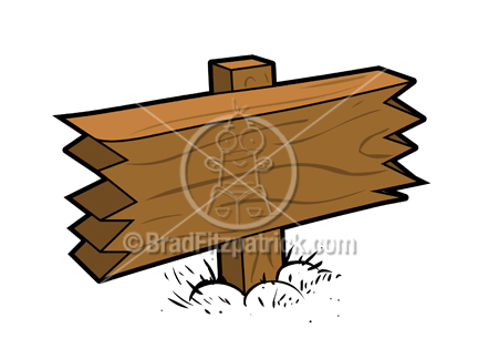 Blank Wood Sign Clip Art   Royalty Free Blank Wood Sign Clipart ...