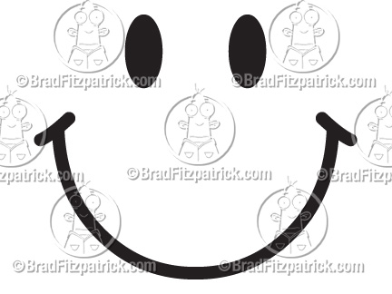 smiley face clip art animation. Cartoon Smiley Face Clipart