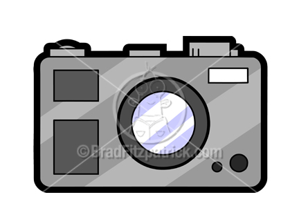 Cartoon Camera Clipart Picture | Royalty Free Camera Clip Art ...