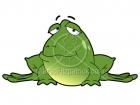 Cartoon Frog Clipart Character