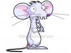Cartoon Mouse Clipart Character