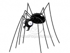 Cartoon Spider Clipart Character