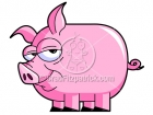 Clipart of a Pig