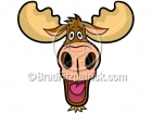Cartoon Moose Head Clipart Graphics