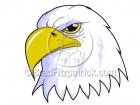 Royalty Free Patriotic Eagle Clipart