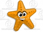 Cartoon Starfish  Clipart Graphics