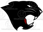 Black Panther Head Logo