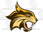 Cartoon Wildcat Mascot Clipart Graphics