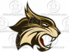 Cartoon Bobcat Mascot Clipart Graphics
