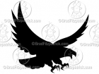 Eagle Vector - Vector Eagle Silhouette