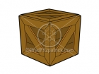 Royalty Free Crate Cartoon Clipart
