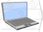 PC or Mac Computer Laptop Clipart